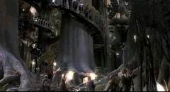 The Fellowship in Lothlorien.