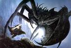 John Howe. Rolozo Tolkien. Sam and Shelob.